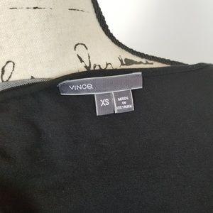 Vince Dresses - Vince XS Chambray Back Black Maxi Dress